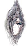 Abstraia o cabelo Fotografia de Stock