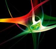 Abstraia o fractal galxy Fotos de Stock Royalty Free
