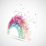 abstraia o fundo Imagem de Stock