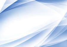 Abstraia o fundo azul Imagens de Stock