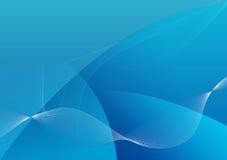 Abstraia o fundo azul Fotos de Stock