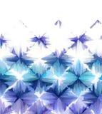 Abstraia o fundo branco azul Foto de Stock