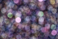 abstraia o fundo Círculos coloridos no bokeh bonito foto de stock