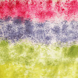 Abstraia o fundo colorido da aguarela Imagens de Stock