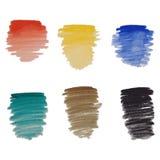 Abstraia o fundo colorido da aguarela Foto de Stock