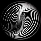 Abstraia o fundo com movimento espiral. Imagens de Stock