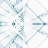 Abstraia o fundo da arquitetura rendição 3d Foto de Stock Royalty Free
