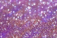 Abstraia o fundo da poeira do glitter Imagens de Stock Royalty Free