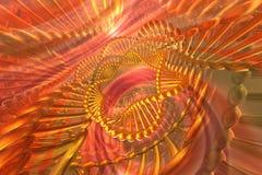 Abstraia o fundo do ADN ilustração stock