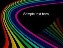 Abstraia o fundo do arco-íris Fotos de Stock