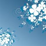 Abstraia o fundo floral Imagem de Stock