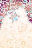 Abstraia o fundo floral Fotografia de Stock Royalty Free