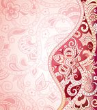 Abstraia o fundo floral Foto de Stock Royalty Free