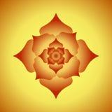 Abstraia o fundo floral Imagem de Stock Royalty Free