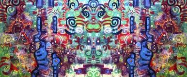 Abstraia o fundo floral Imagens de Stock