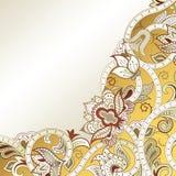 Abstraia o fundo floral ilustração stock