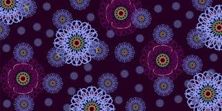 Abstraia o fundo floral Foto de Stock