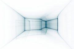 Abstraia o fundo futurista Imagens de Stock