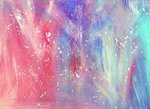 abstraia o fundo Pintura Fundo da textura Imagens de Stock Royalty Free
