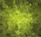 abstraia o fundo polygonal Foto de Stock Royalty Free