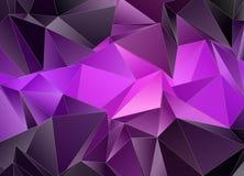 abstraia o fundo Textura Triangulated ilustração royalty free