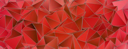 abstraia o fundo Textura Triangulated ilustração stock