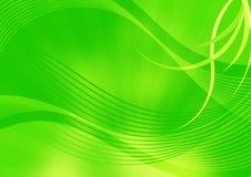 Abstraia o fundo verde Fotografia de Stock Royalty Free