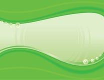 Abstraia o fundo verde Imagens de Stock