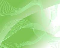 Abstraia o fundo verde Imagens de Stock Royalty Free