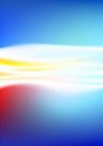 Abstraia o incêndio ilustração do vetor