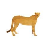 Abstraia o leão Foto de Stock