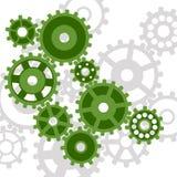 Abstraia o mecanismo. ilustração stock