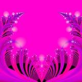 Abstraia o molde do fundo na cor-de-rosa quente, no azul, no preto e no vermelho Foto de Stock