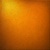 Abstraia o projeto da textura do fundo da grade do ouro Fotografia de Stock Royalty Free