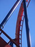 Abstraia o roller coaster Imagens de Stock Royalty Free