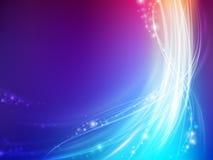 Abstraia a onda colorida Foto de Stock Royalty Free