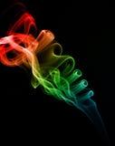 Abstraia ondas da cor Fotografia de Stock Royalty Free
