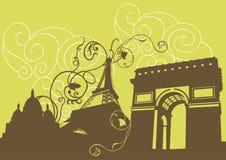Abstraia Paris Fotografia de Stock Royalty Free