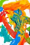 Abstraia a pintura Foto de Stock