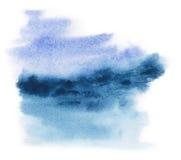 Abstraia a pintura da aguarela Imagem de Stock