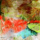 Abstraia a pintura da expressão. Foto de Stock Royalty Free