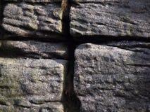 Abstraia a rocha foto de stock