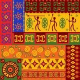 Abstraia testes padrões étnicos Imagem de Stock
