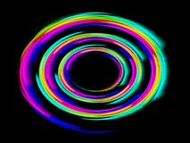 Abstraia um círculo Foto de Stock