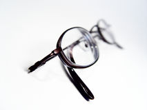 Abstraia vidros de leitura fotos de stock royalty free