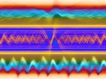 Abstraiga el analizador de sonidos libre illustration
