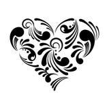 Abstraiga el corazón ilustración del vector