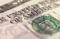 Abstraiga el dólar Bill de cinco Foto de archivo libre de regalías