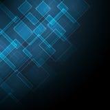 Abstraiga el fondo azul Imagen de archivo libre de regalías