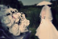 abstraiga el fondo boda Defocusi radial del efecto de la falta de definición del enfoque imagen de archivo